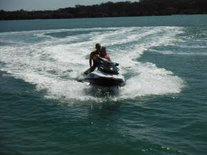 Water...speed...adrenaline...driving the jetski myself - AMAZING experience!