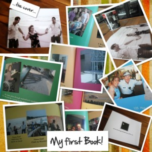 Collage of photos from my book....