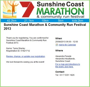 Its official...Im entering a Marathon..Anything is Possible! :)