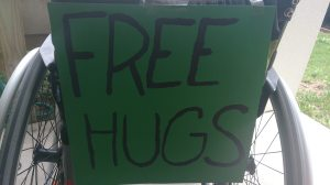 Bring on the HUGS! :D