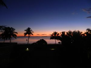 Tangalooma Sunset from my room at the Resort....WOW!!