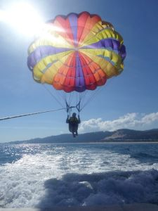 "Parasailing....""I Believe I can Fly!"""